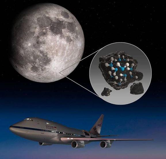Nueva confirmación de la presencia de agua en la Luna