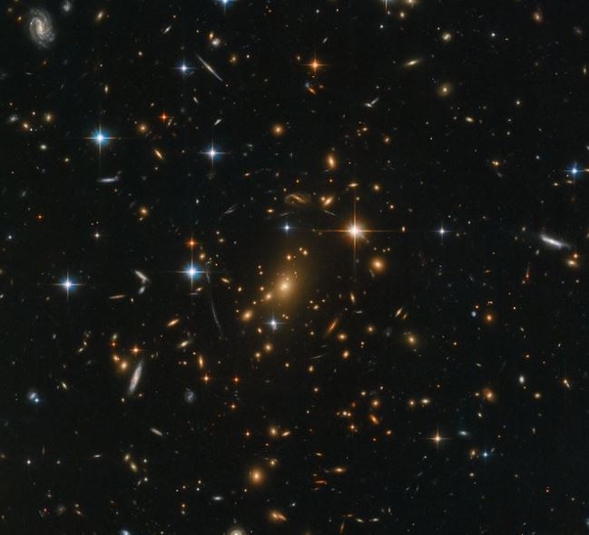 """Un tesoro galáctico del espacio profundo """"sonificado"""""""