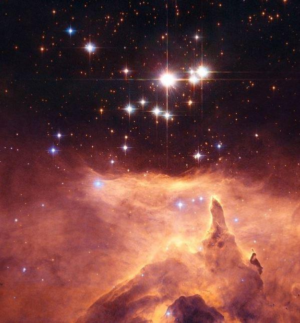 El precioso cúmulo estelar Pismis 24