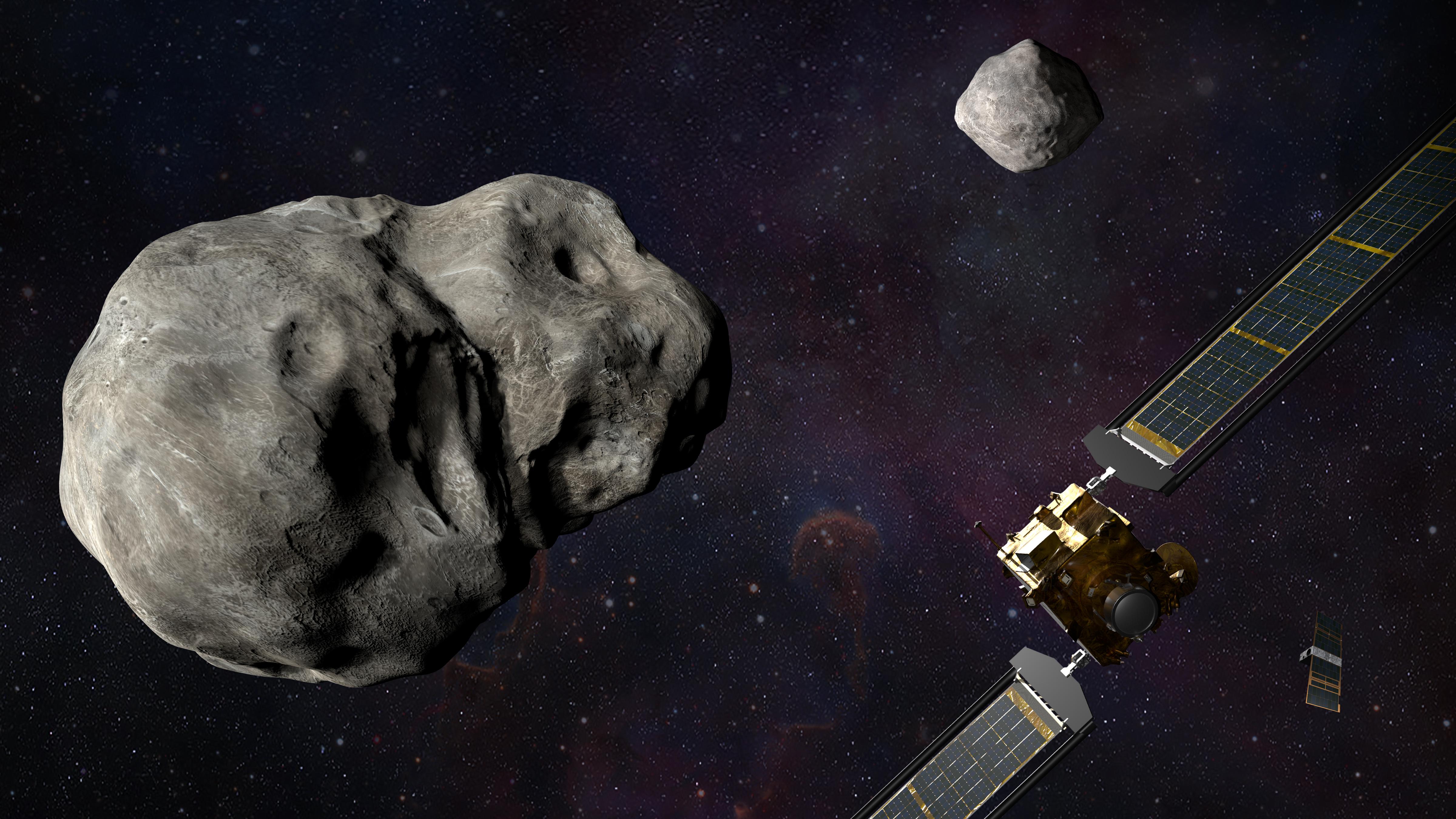 La NASA lanzará la primera prueba de defensa planetaria contra asteroides