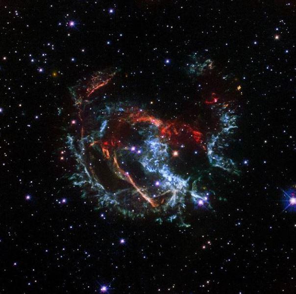 El bello y dramático final de una estrella hace 1700 años
