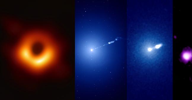 Los telescopios más poderosos del mundo se unen para dar las mejores imágenes del agujero negro más famoso de la historia