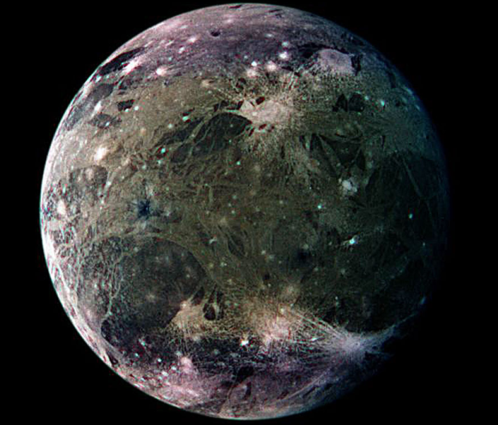 Primera evidencia de vapor de agua en la luna de Júpiter, Ganímedes